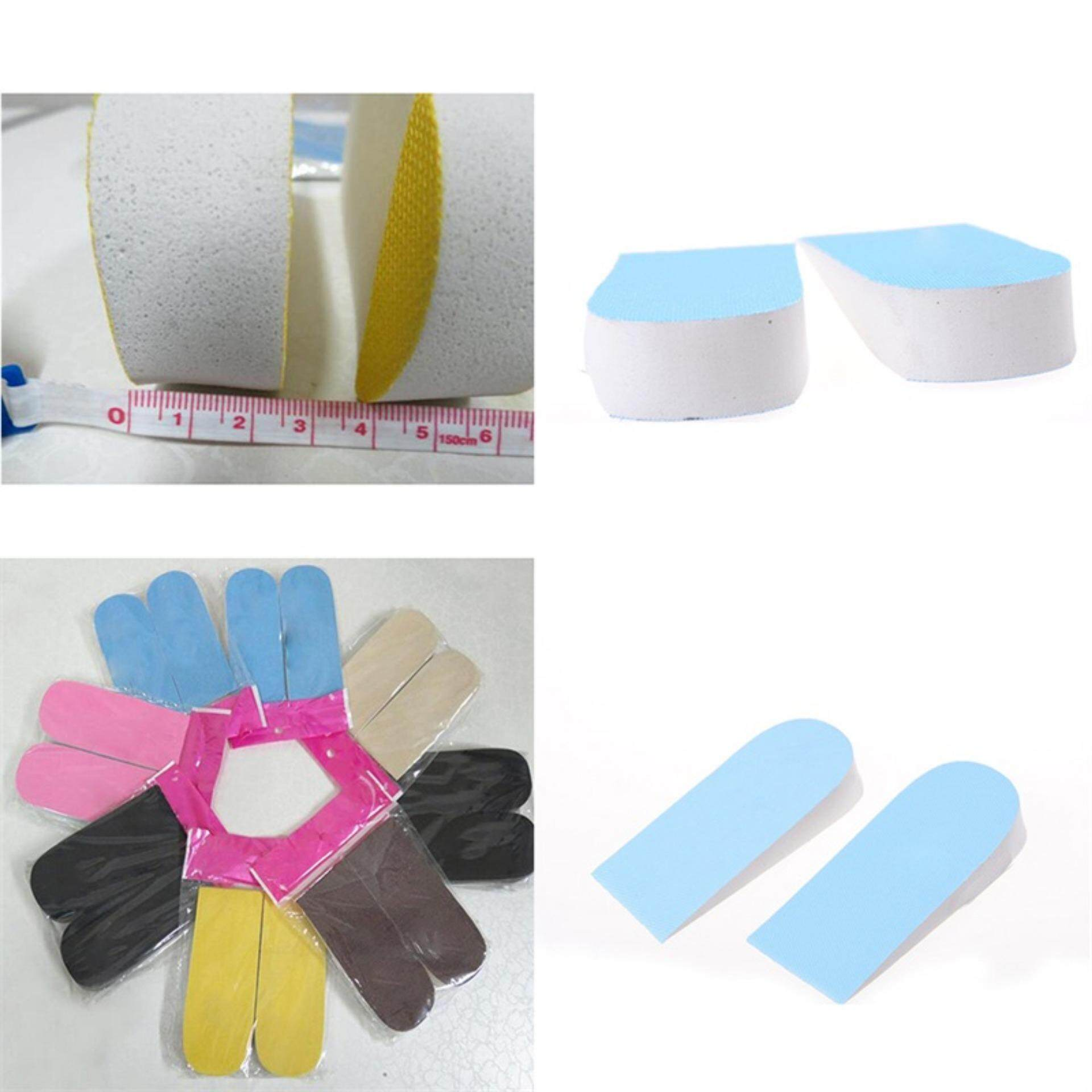 1Pair Unisex Increase Height High Half Insoles Foam Shoe Inserts Cushion Pad
