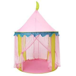 Lều Công Chúa Màu Hồng Cầm Tay Cho Trẻ Em, Đồ Chơi Trẻ Em Gấp Được, Nhà Phòng Trò Chơi Lớn Chống Muỗi Cho Trẻ Em thumbnail
