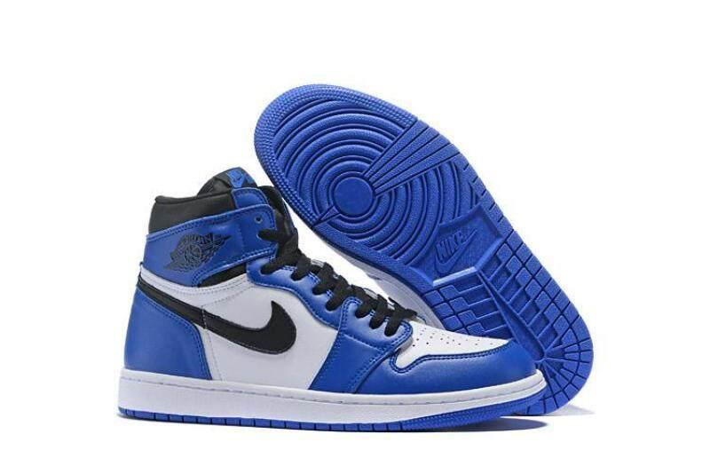 2019 Comfortable Nike Air Jordan 1 MEN Basketaball Sneakers Air Jordan 1 blue Sale New