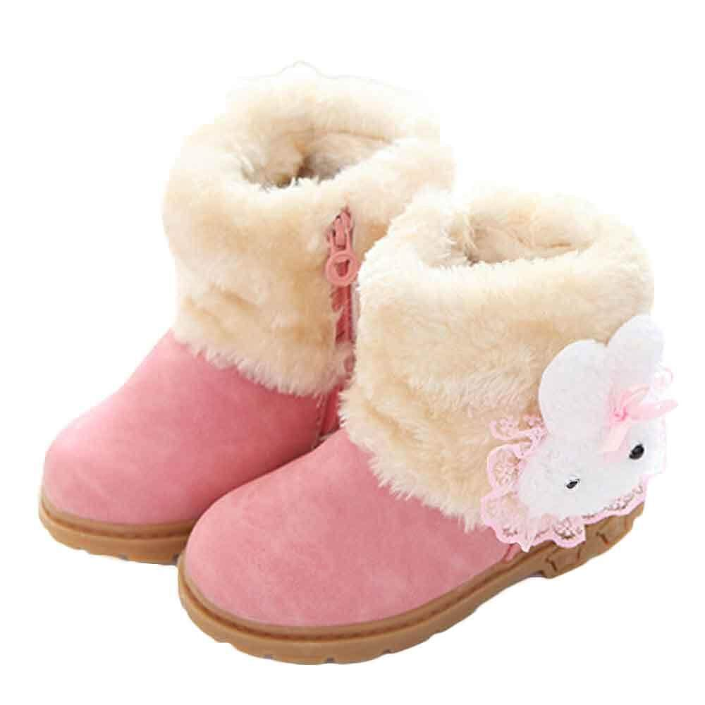 RADOCIE Girl Cute Fashion Winter Baby Child Style Cotton Boot Warm Snow Boots