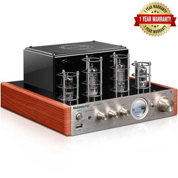 Nobsound High End 6n1x2 6p1x2 Ms 10d Mkii Vacuum Tube Hifi Amplifier With Bluetooth Usb