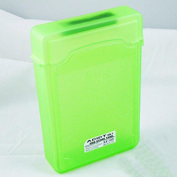 Teamtop 3.5'' IDE SATA HDD Hard Drive Disk Protection Plastic Storage Box Case Enclosure Green (Intl) - intl