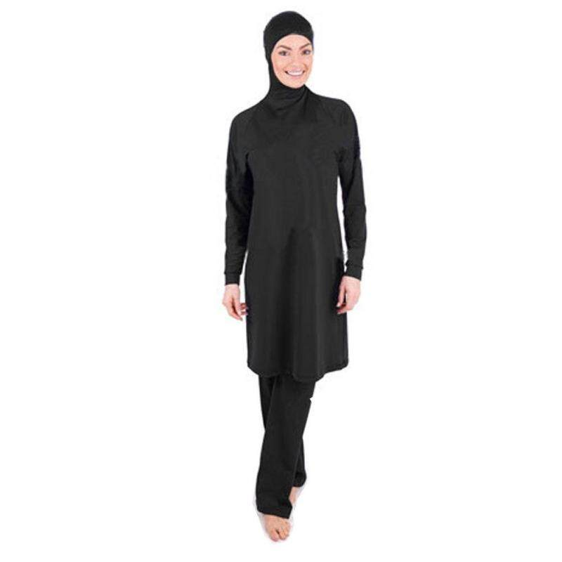 New Muslim Swimsuit One-piece Swimsuit Women Conservative Swimsuit