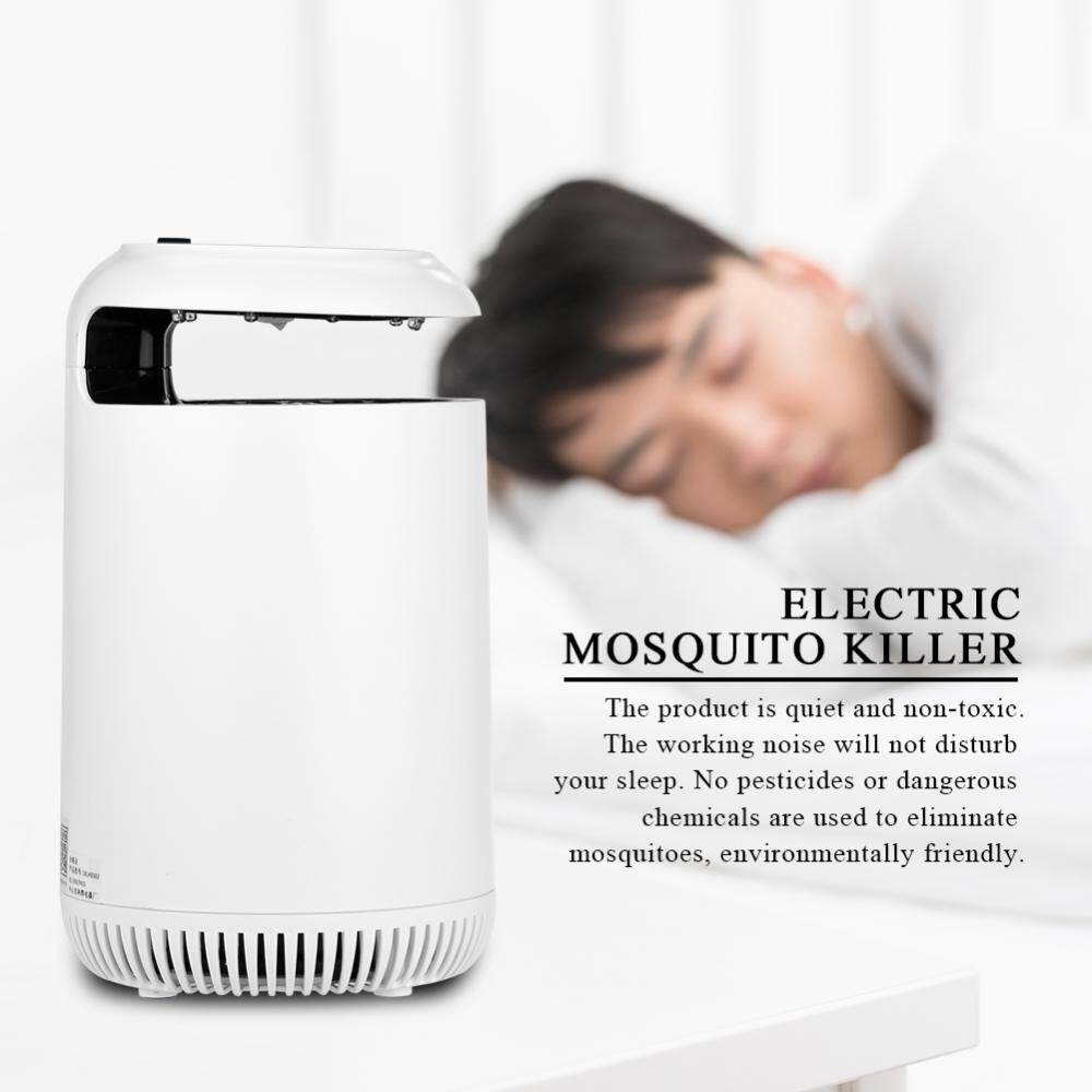 Battery Storage Electric LED UV Light Mosquito Killer Flies Insect Trap Lamp Bug Zapper