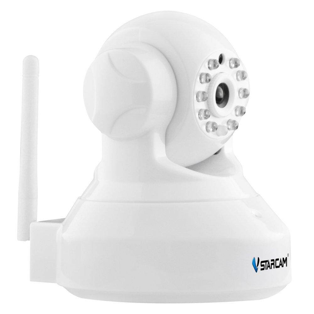 2018 VSTARCAM C37A 960P 1.3MP Wi-Fi Security Surveillance IP Camera w/Night Vision / TF - White
