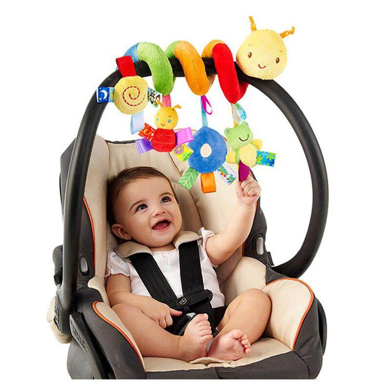 Infant Babyplay Baby Toys Activity Spiral Bed /& Stroller Toy Set Hanging Bell