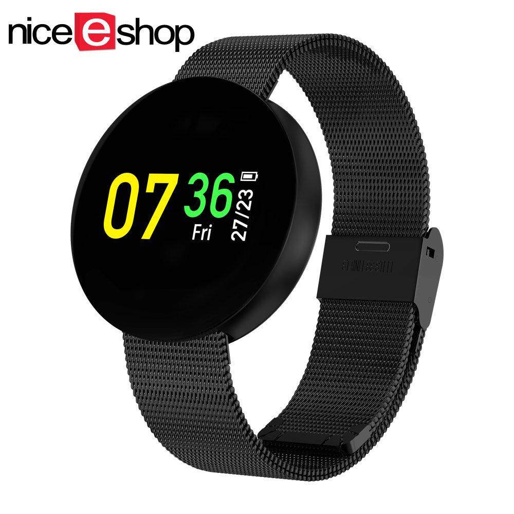 niceEshop Fashion Design Color Screen Smart Bracelet Fitness Band Waterproof Smartband Watch For Android IOS - intl