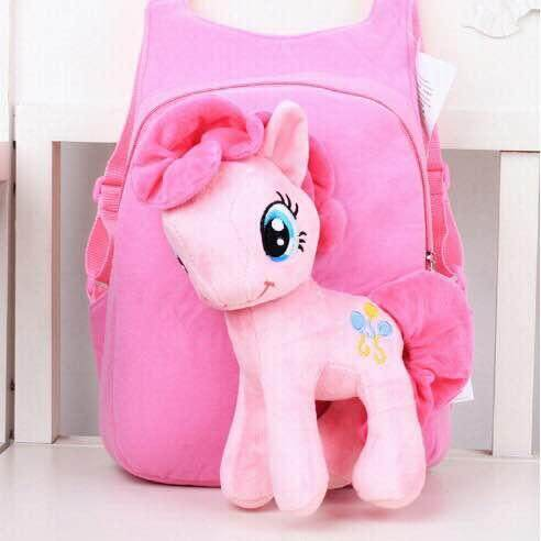 YOYOMI children's backpack unicorn plush toy doll children's backpack