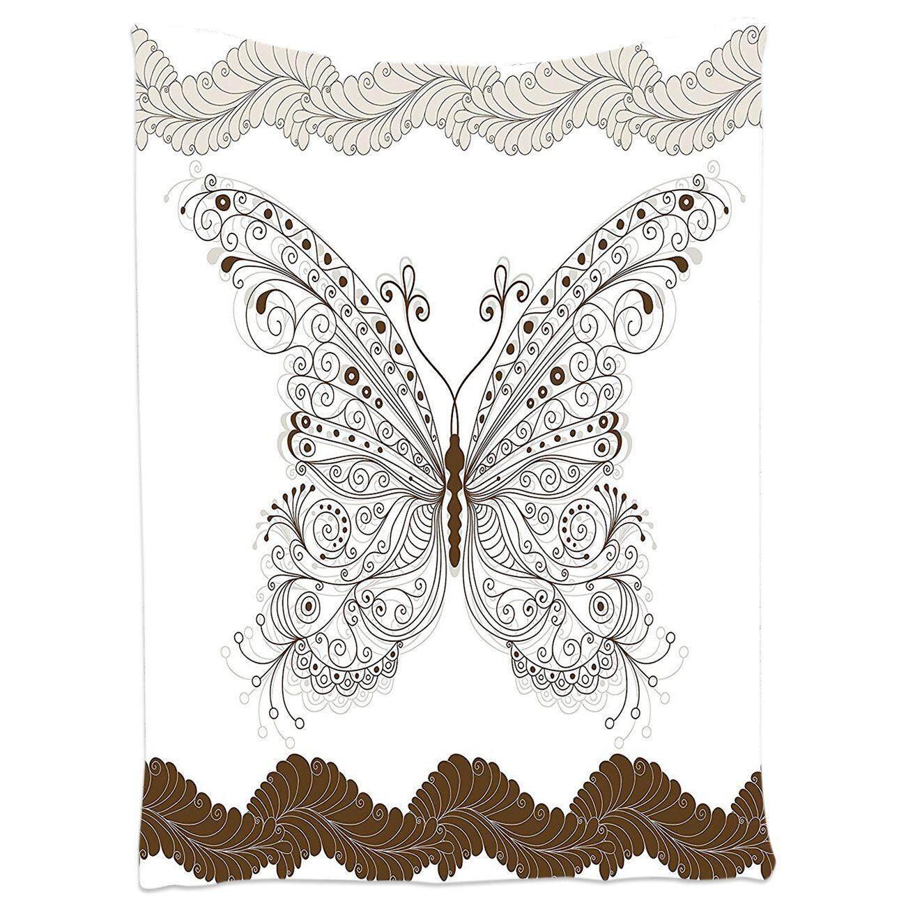 Bohemian Tapestry Butterfly Decor Bedroom Living Room Dorm Wall Hanging Art,100*150cm