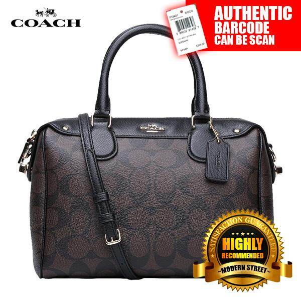 2a275edcd4 50% off authentic coach handbag womens fashion bags wallets on carousell  3859b eb4c4  new arrivals coach f36702 nwt mini bennett satchel in  signature imaa8 ...