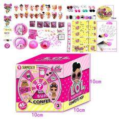 Surprise Colorful Unwrapping Toy Surprise Glitter Water Spray Scented Unwrapping Doll – intl