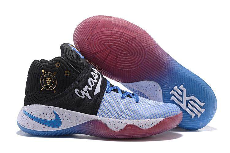new products 16bed 089c5 Nike Men's Kyrie 2 Basketball Shoe (Black/Blue)