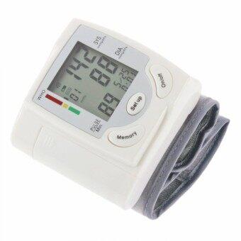 Yushong Digital LCD Wrist Blood Pressure Monitor Heart Beat Rate Pulse Meter Measure