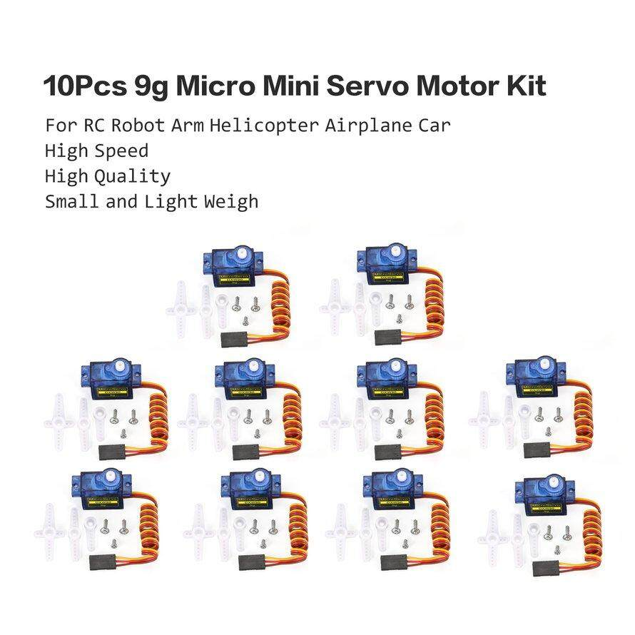 OSMAN 10Pcs 9g Micro Mini Servo Motor Horns for RC Robot Arm Helicopter Airplane Car 3Pcs Free Shipping
