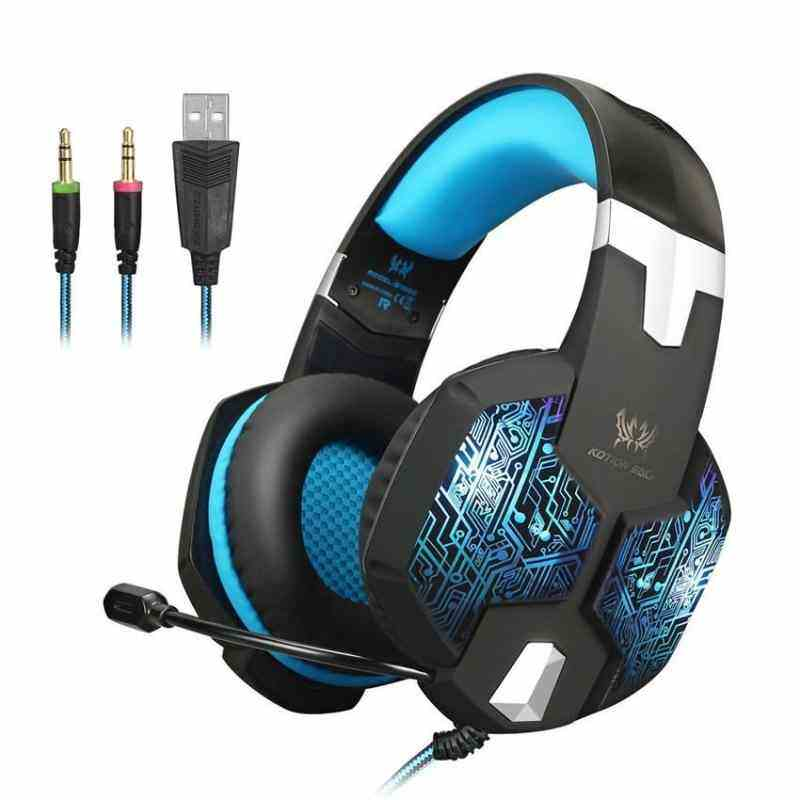 50a21c4c75c LeGoal KOTION EACH G1000 PC Gaming Headset Heavy Bass Game Headphones with  Microphone 7 Colors RGB