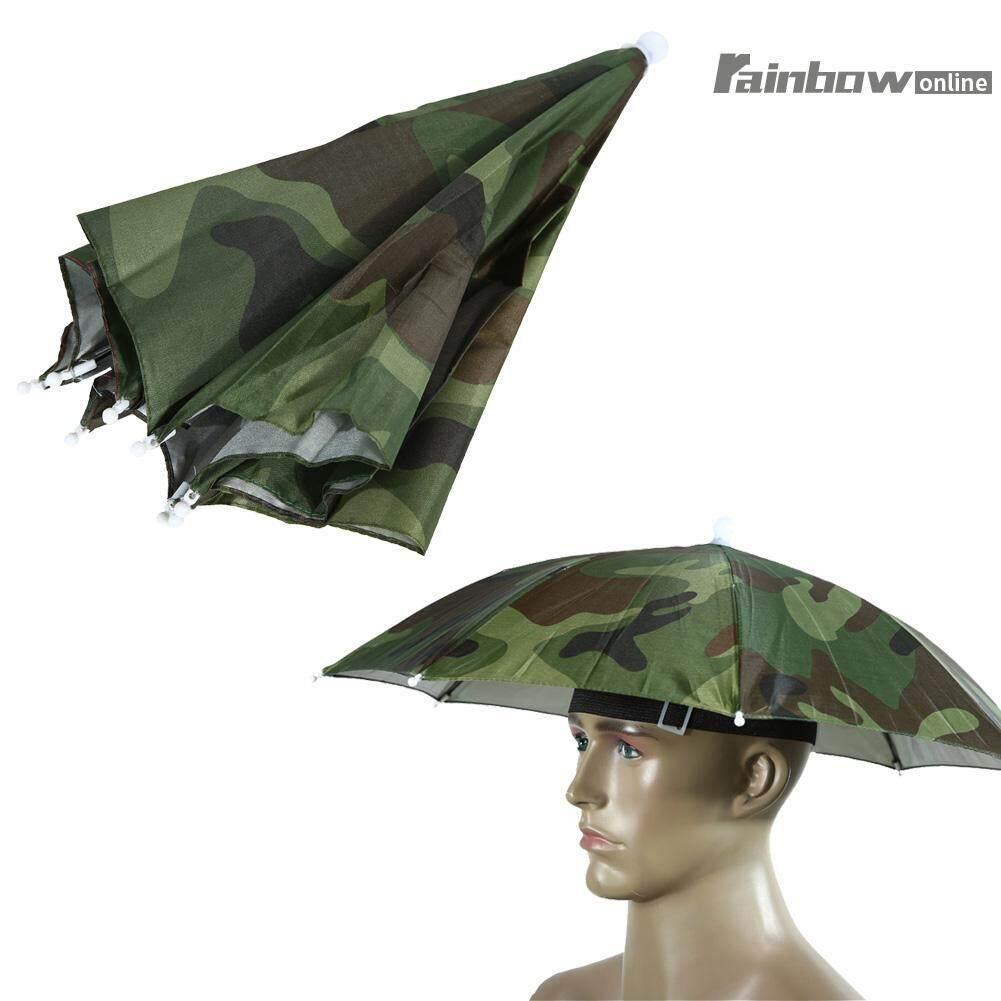 Umbrella Hat Sun Shade Outdoor Brolly - intl