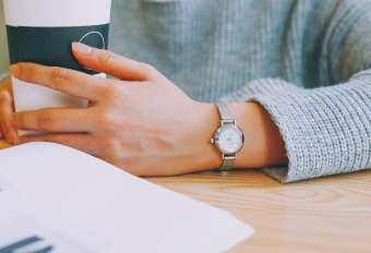 OSBORNSHOP ผู้หญิงควอตซ์ Analog นาฬิกาข้อมือเล็กๆที่ละเอียดอ่อนนาฬิกาธุรกิจหรูหรานาฬิกา BK-