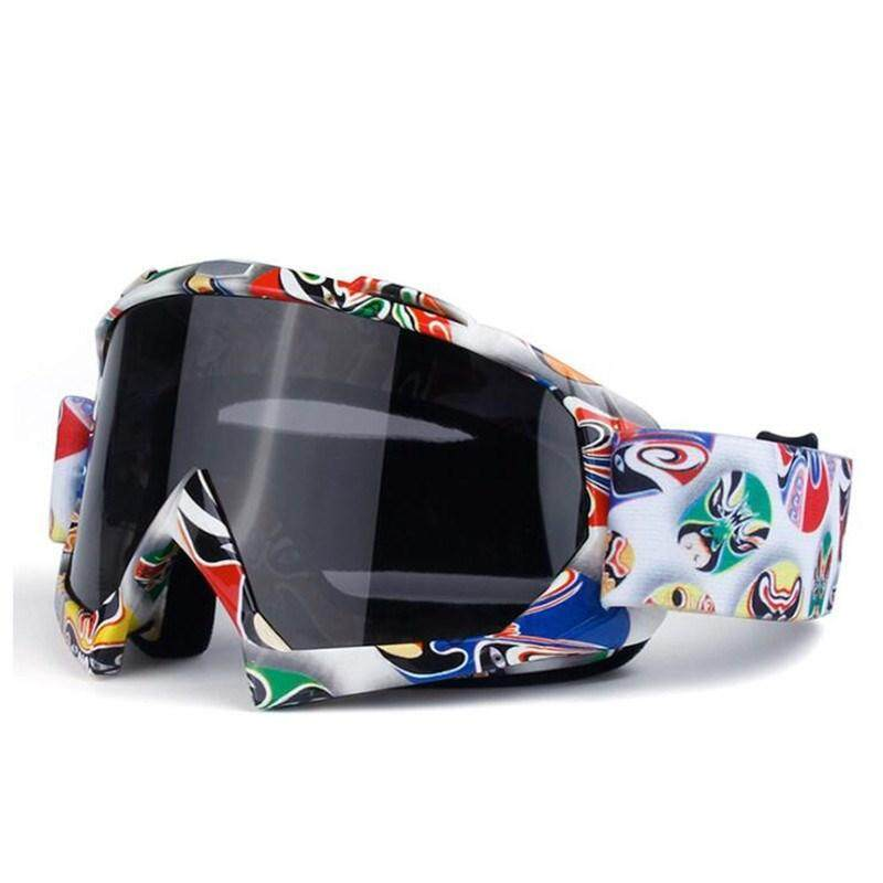 YUN Unisex Ski Goggles Ski Mask Glasses Skiing Snowboard Eyewear Anti-sand Windproof Breathable Goggles
