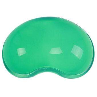 SWorld Silicone Wrist Mouse Pad Wrist Support Anti-fatigue Hand Pillow Green