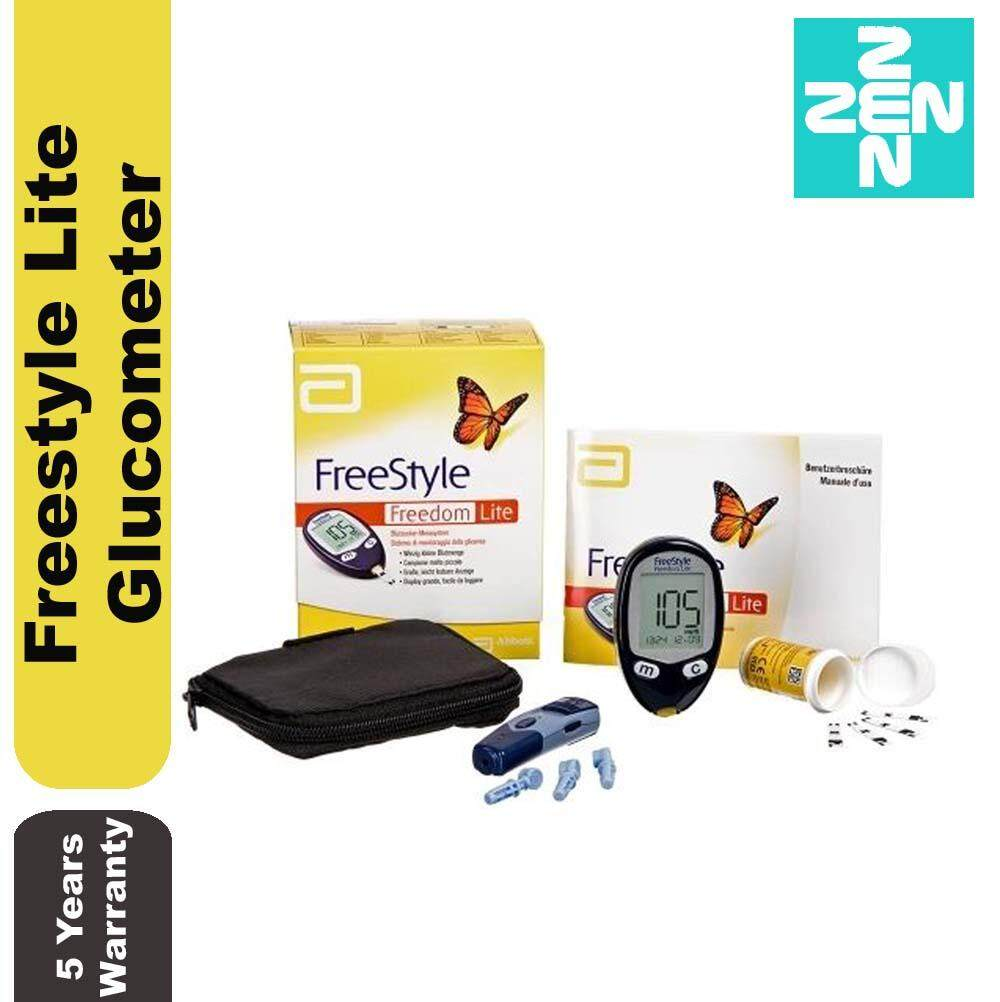 Abbott FreeStyle Freedom Lite Glucometer Blood Glucose Monitor With 10s Strip