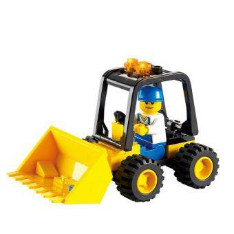 FC Early Childhood Educational Building Blocks Assembled Toy Buildingblocks Truck Stall Selling Toys