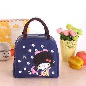 International The New Japanese Small Girl Portable Lunch Bags Thicker Insulationbags Large Portable Waterproof Bag Tote Bag