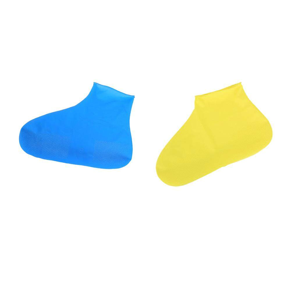 fangfang New Motorcycle Waterproof Shoes Boot Gear Latex Rain Cover Anti-slip