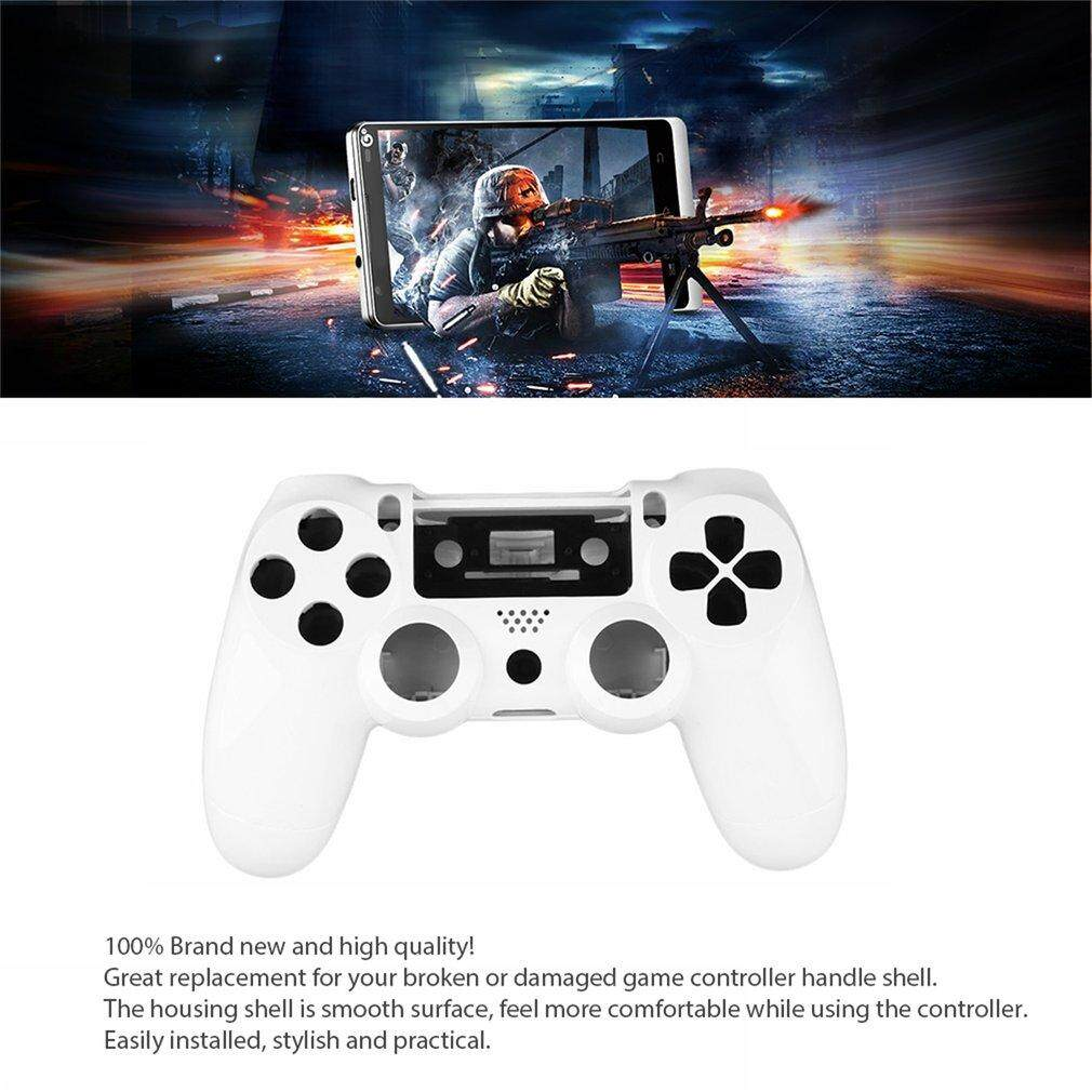 Era Gamepad Controller Housing Shell W/buttons Kit For Ps4 Handle Cover Case White