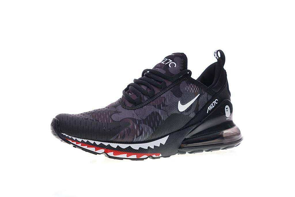 new concept bb5dd 7db8a Nike Air Max 270 Men s Breathable Sport Sneakers Fashion Running Shoes  (Black)