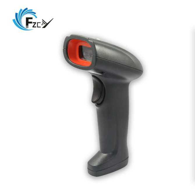 FY-1020 CCD 1D Wired Barcode Scanner Screen/Paper Code Reader with USB Cable
