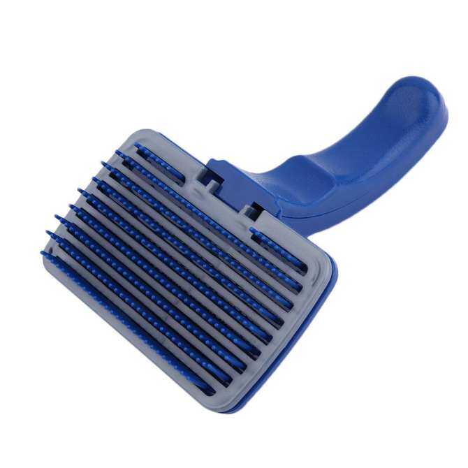 XIN Dog Cat Hair Quick Clean Shedding Tool Brush Comb Pet Grooming Rakes New