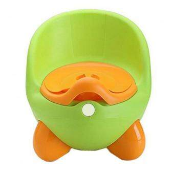Cutie Baby Infant Potty Training Seat Chair Toilet Trainer (Green)