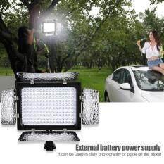 W160 Video Photography Light Lamp Panel 6000K LED for DSLR Camera DV Camcorder – intl