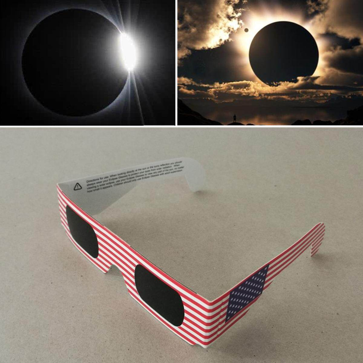 Chic Professional Solar Eclipse Glasses Premium Quality Safety Observation Tool