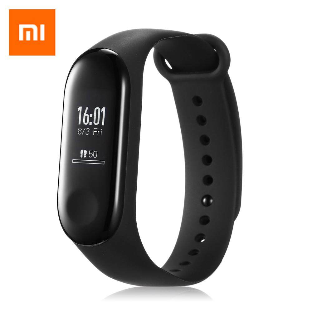 Original Xiaomi Mi Band 3 Miband 3 Smart Tracker Band Instant Message Caller ID 5ATM Waterproof OLED Touch Screen  ( international version)