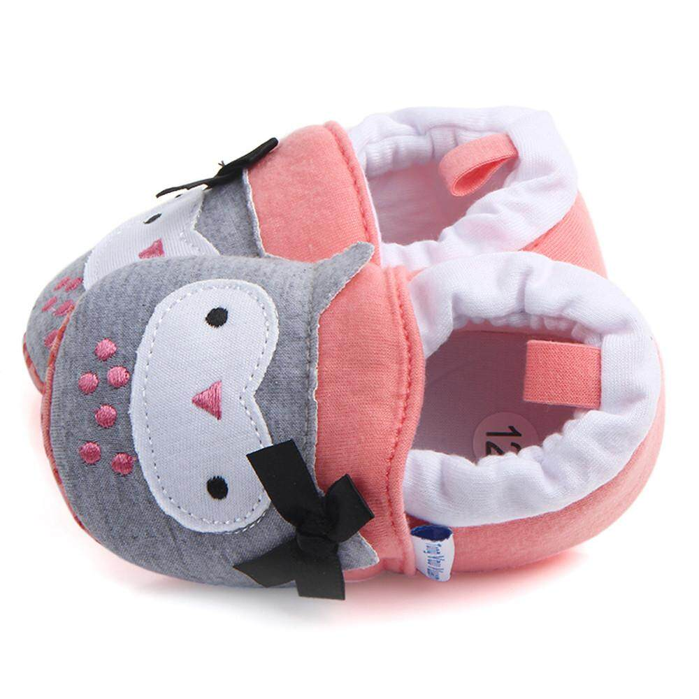 Cute Boy Girl Shoes Baby Soft Shoes Fring Soft Soled NonSlip Footwear Crib Shoes