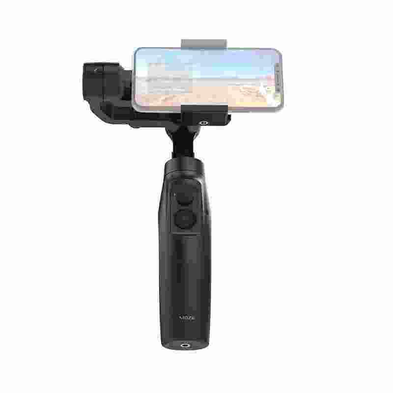 Smartdeal Moza Mini-Mi 3-Axis Stabilizer Gimbal Smartphone WIRE-Telepon Kurang Pengisian Beberapa Mata Pelajaran Deteksi 360 ° Rotasi awal Mode Menakjubkan Motion Timelapse untuk iPhone X 8 7 Plus 6 Plus Samsung Galaxy