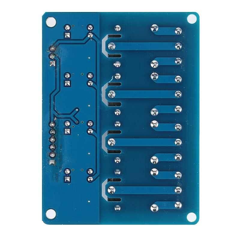 M_home 5 v Relay 4 Kênh Mô-đun Giao Diện Tiêu Chuẩn Optocoupler LED cho Arduino PIC AVR CÁNH TAY 7*5.3 mm-quốc tế