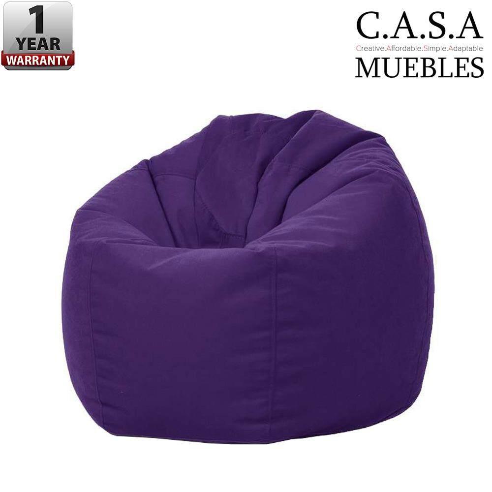 Gossamer 2kg Japanese Style Laid Back Fluffy Comfy Bean Bag  # Waiting Muebles