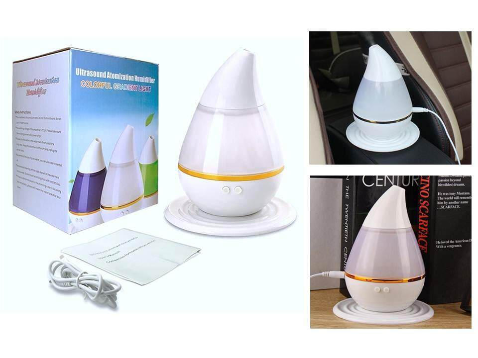 USB 7 Color Ultrasonic Home Aroma Humidifier Air Diffuser Purifier