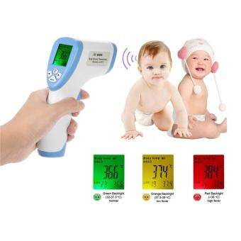 Non-Contact Forehead Electothermometer Digital Infrared Thermometer (Green) High Quality