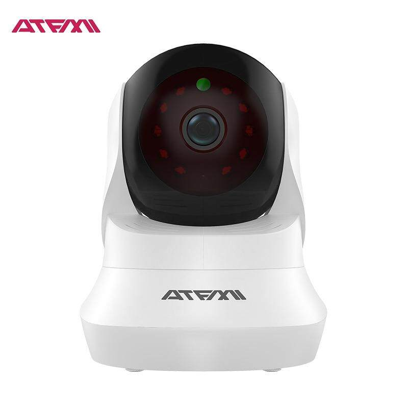 ATFMI 720P HD T4 Write Home Secutiry Camera Pet Monitor Baby/Nanny Camera Wireless Wifi IP Camera with Two-way Audio 3.6mm Lens with IR Cut