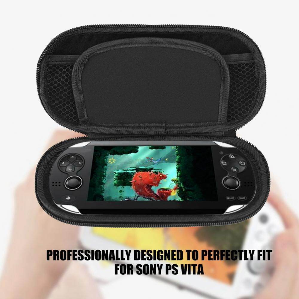 Carrying Case for PS Vita Black Protective Hard Case Cover Carry Pouch Travel Bag - intl