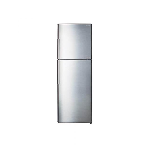 Sharp 400L 2-Door Fridge SHP-SJ406MSS