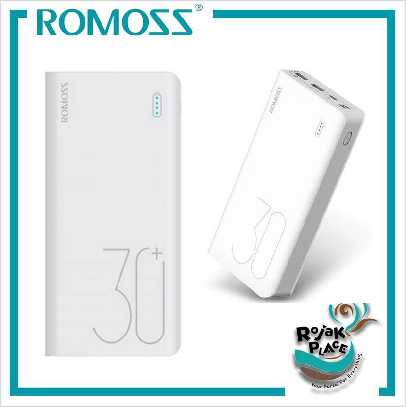 ROMOSS Sense 8 Plus PD QC 3.0 3 inputs 30000mAh Fast Charge Power Bank