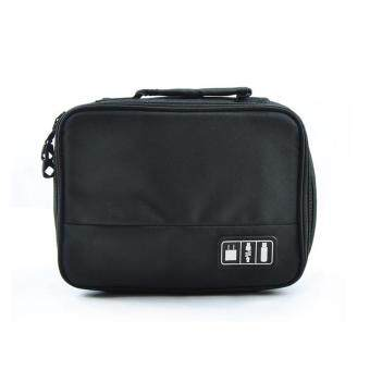 IBERL 1PC Portable Digital Storage Bag Organizer Case for HDD Chargers Travel Accessories