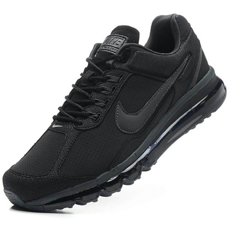 best sneakers f26a4 81bc3 Nike Mens Air Max Running Sport Shoes Fashion Sneakers (Black)