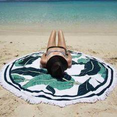 Summer Beach Cover Up Round Tassel Towel Mat Shawl Yoga Tapestry Cloak Bathing Suit – intl