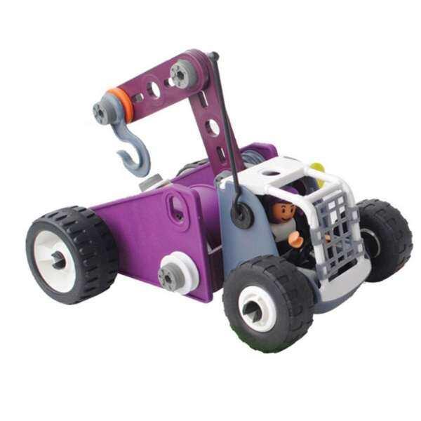 MayLer Store DIY Building Blocks Construction Car Model 4 In 1 Nut Bolt Kids Developmental
