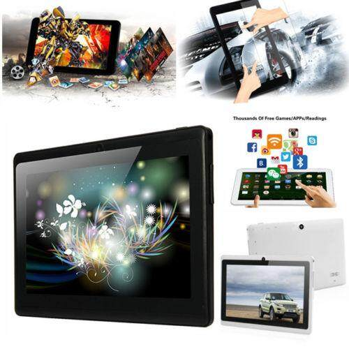High-tech 7 Inches Android 4.4 Quad Core Dual Camera Tablet US plug Free shipping